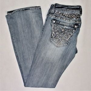 Miss me boot denim jeans, size 26